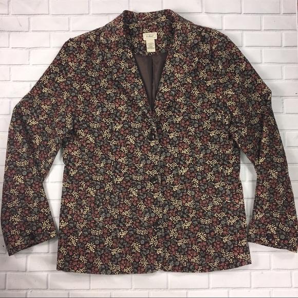 L.L. Bean Jackets & Blazers - LL Bean Women's 14 Reg Blazer Jacket 3 Button